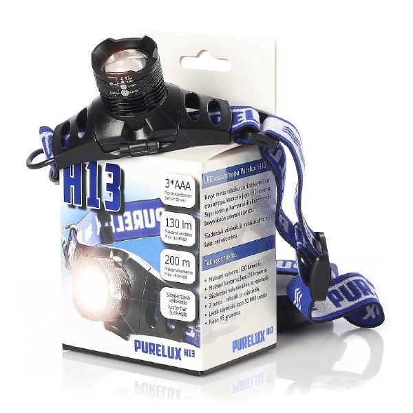 Otsalamppu Purelux H13, 130 lm