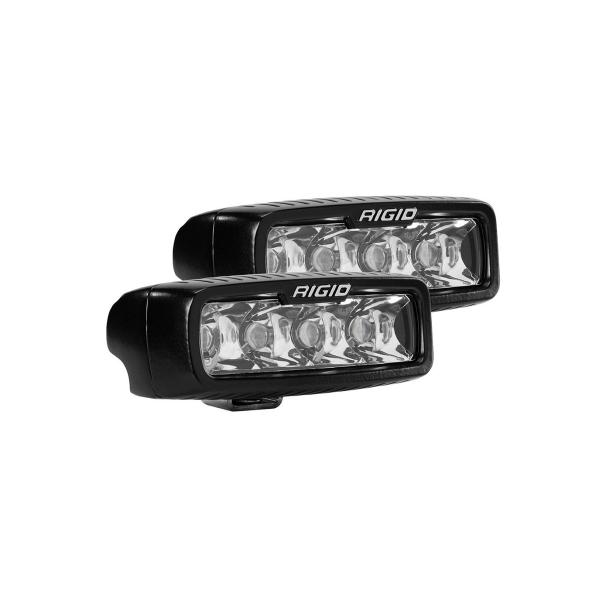 Lisävalo Rigid Industries SR-Q Series Spot - Suora / 13 cm / 15W / Ref. 10 (2 kpl)