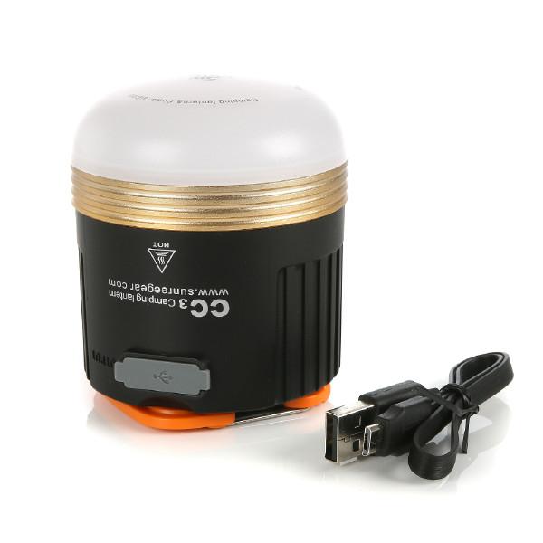"Ladattava ""LED-mökkivalo"" / Yleisvalo Sunree CC3, 550 lm"