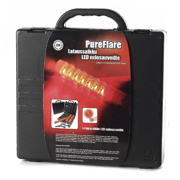 LED valosauvat 3 kpl + lataussalkku PureFlare