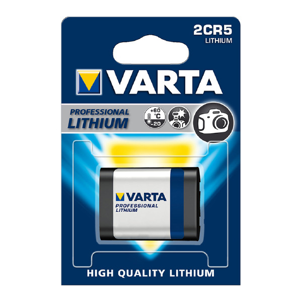 2CR5-batteri VARTA Professional Lithium, 1 st