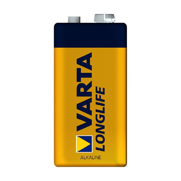 9V-batteri VARTA Long Life, 1 st