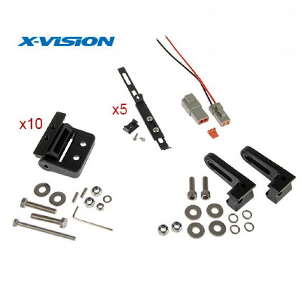 Extraljus X-Vision Genesis 1300 - Kurvad / 130 cm / 300W