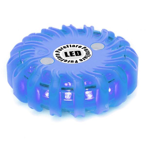 Ladattava LED-valokiekko PureFlare, Sininen