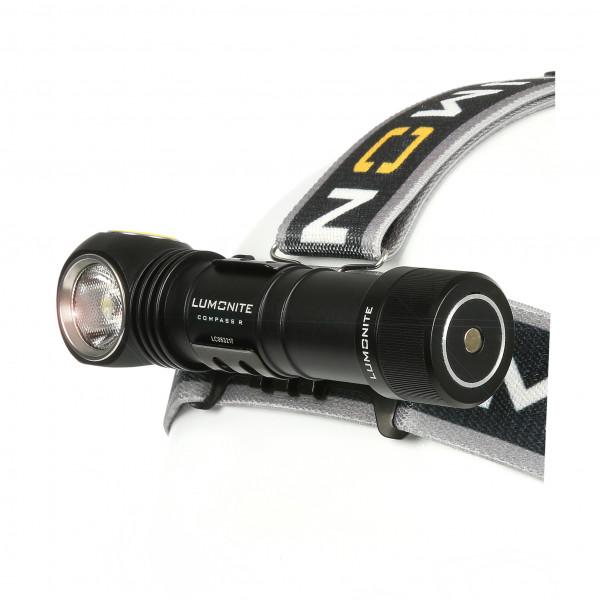 Hodelykt / Lommelykt LUMONITE® Compass R (USB), 1238 lm