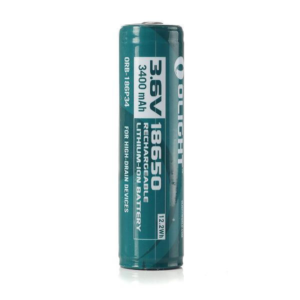 18650 Li-ion batteri Olight, 3400 mAh