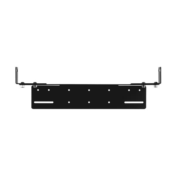 Justerbar Ekstralysholder Nummerskilt for LED bar