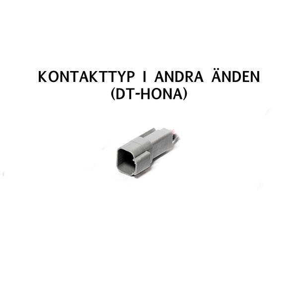 Adapter Modernum DT-3 till DT-kontakt (DT-2), 15 cm kabel
