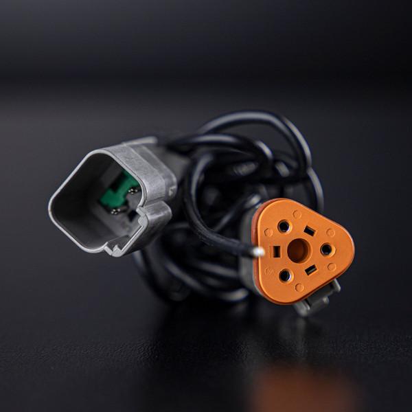 Adapter DT-3 till DT-kontakt (DT-2), 50 cm kabel