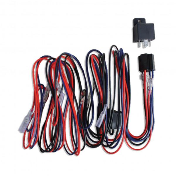 Reläkabelsats 12V Extraljus (för 1-3 st lampor)