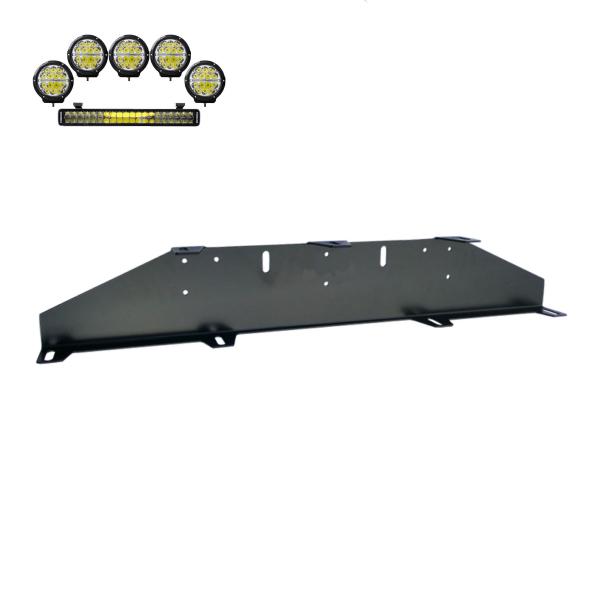 "Extraljushållare ""Rally 5"", 5st extraljus + 1st ramp (max 230 mm)"