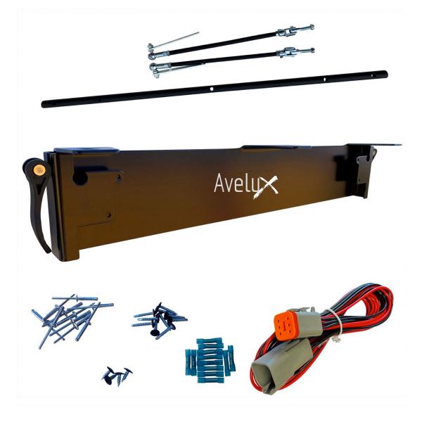 Extraljushållare Avelux Snabbfäste 3st extraljus (max 230 mm)